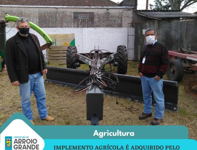 Aquisição de Implemento Agrícola