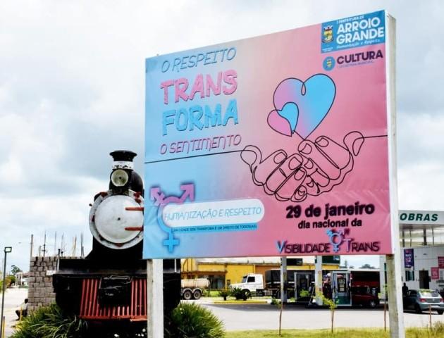 Campanha educativa de Visibilidade Trans da Prefeitura de Arroio Grande é marco de sucesso na região sul
