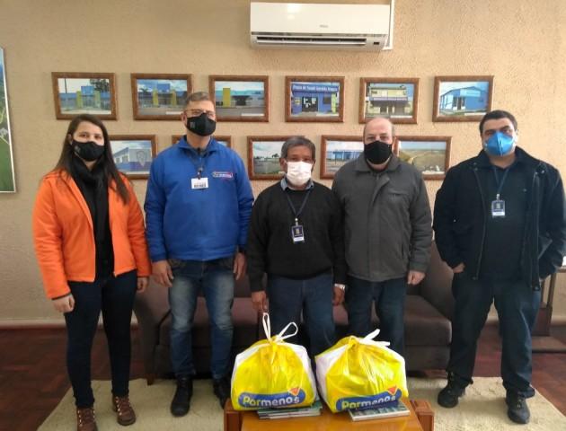 Grupo Grazziotin realiza doação para o município