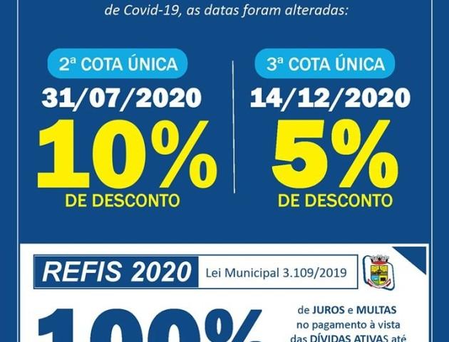 IPTU e REFIS 2020