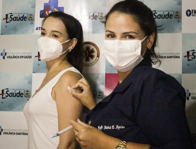 Prefeitura dá início à Campanha de Vacinação Contra Covid-19