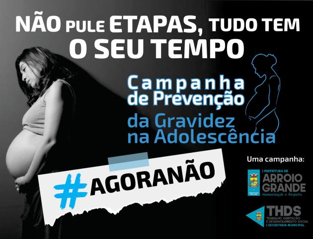 Prefeitura de Arroio Grande desenvolve campanha de prevenção de gravidez na adolescência