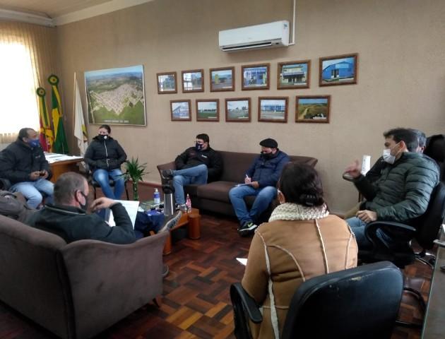 Reunião com o Conselho Municipal de Estradas