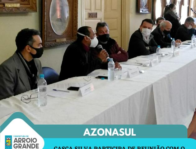 Reunião da AZONASUL com o Governador Eduardo Leite
