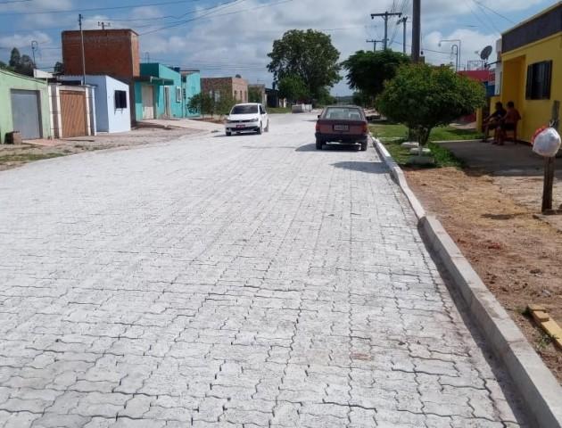 Seguem as obras de pavimentação na cidade
