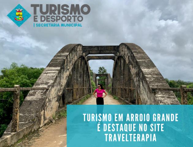 Turismo em Arroio Grande  é destaque no site TravelTerapia