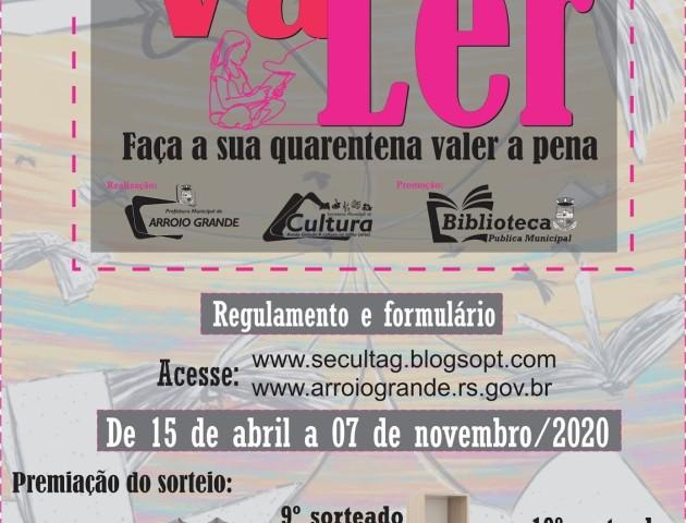 VALER - Programa de Incentivo à Leitura
