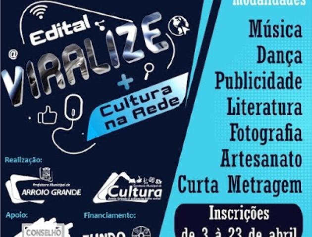 VIRALIZE! Secult lança edital para mobilizar a classe artística do município em tempos de distanciamento social