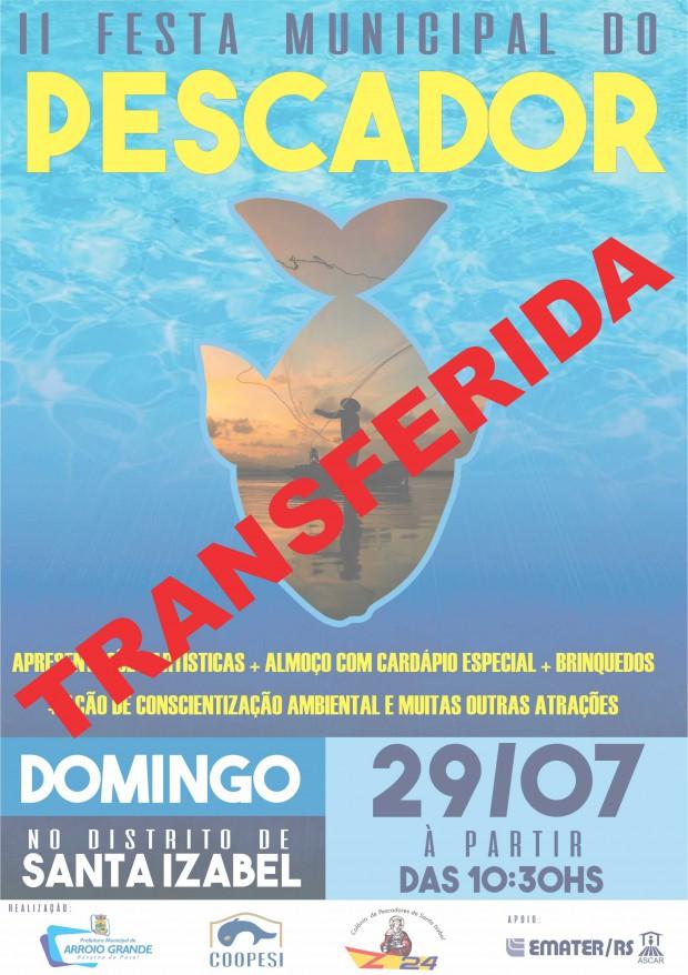 EVENTO TRANSFERIDO: II Festa do Pescador