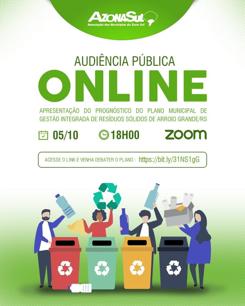 Audiência Pública ONLINE