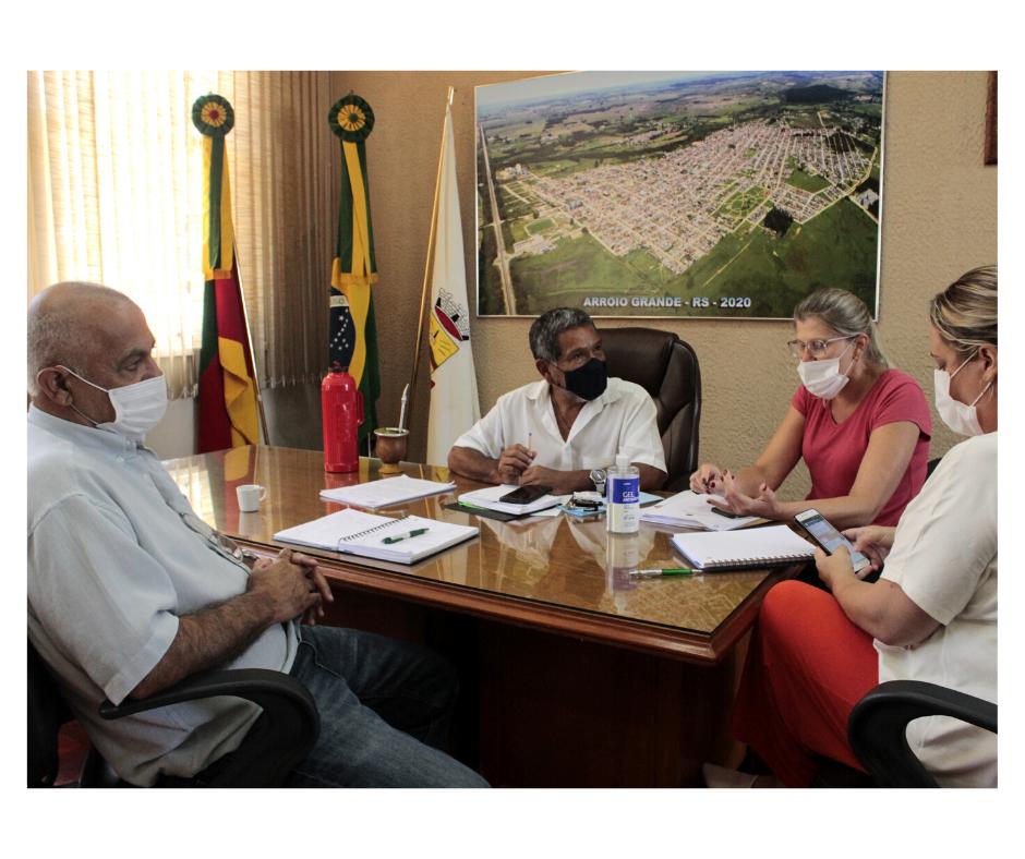 Prefeitura estuda logística de Plano Nacional de Vacinação contra Covid-19 em Arroio Grande